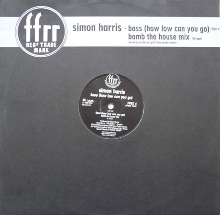 Simon Harris ‎– Bass (How Low Can You Go) (Bomb The House Mix)