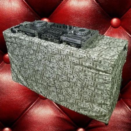 Capa Para Mesa de Dj ( Million Dollar )