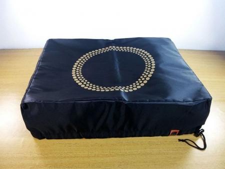 Capa de proteção para Toca-Discos Circulo dourado