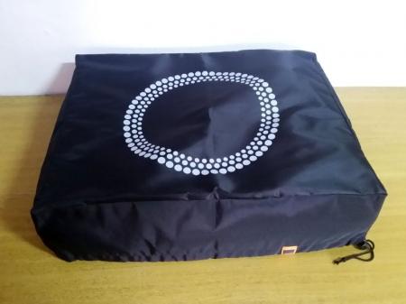 Capa de proteção para Toca-Discos circulo branco