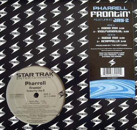 Pharrell – Frontin (Featuring Jay-Z)