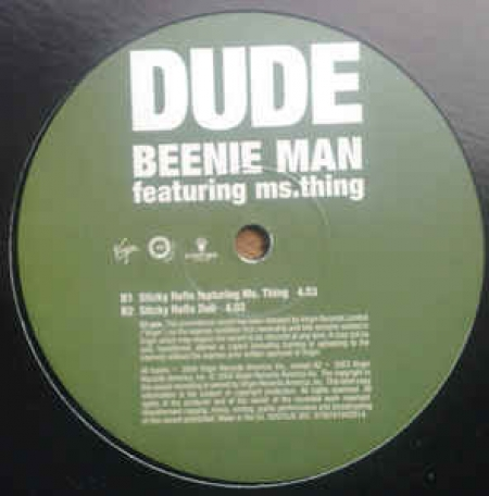Beenie Man Featuring Ms.Thing ‎– Dude