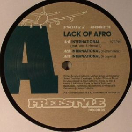 Lack Of Afro ‎– International