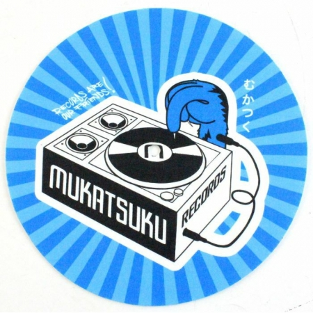 feltro Mukatsuku Records Are Our Friends Blue Rays