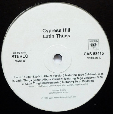 Cypress Hill ‎– Latin Thugs