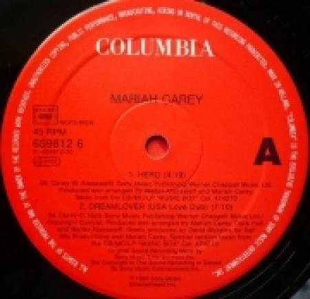 Mariah Carey - Hero (Capa Vazada)