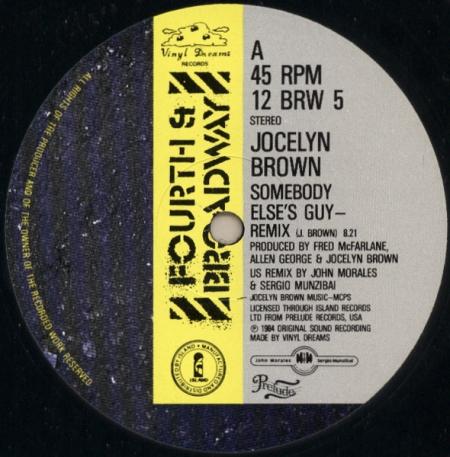 Jocelyn Brown – Somebody Else's Guy (Remix)