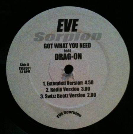 Eve (2) Feat Drag-On ‎– Got What You Need
