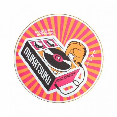 Feltro Mukatsuku Records Are Our Friends Orange & Pink Rays 45'