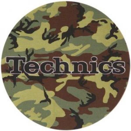 Feltro -Slipmats Technics Camuflado