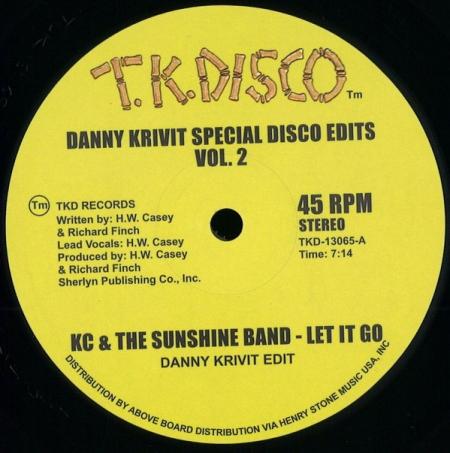 Danny Krivit ?– Special Disco Edits Vol. 2
