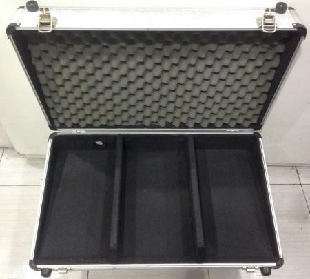 Case Prata Para Cdj 100 / 200 / 350 / 400 + Mixer Pionner DJM 350 & 400