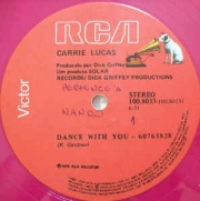 Carrie Lucas ‎– Dance With You - Simpler Days DISC PINK