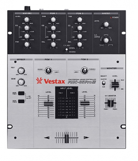 Mixer Vestax Pmc 05 Pro III (Semi-Novo)
