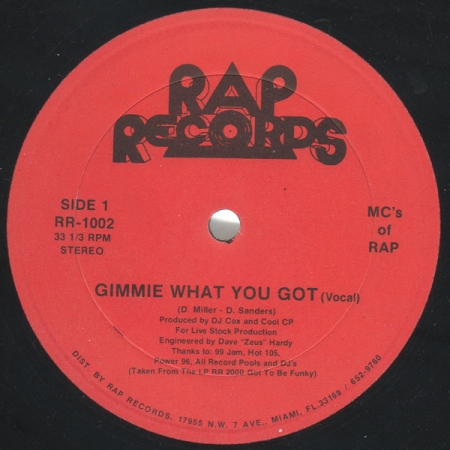MCs Of Rap ?– Gimmie What You Got