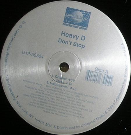 Heavy D ?– Dont Stop