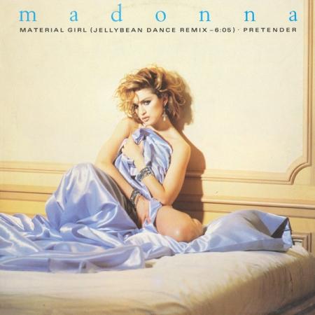 Madonna – Material Girl (Jellybean Dance Remix) / Pretender