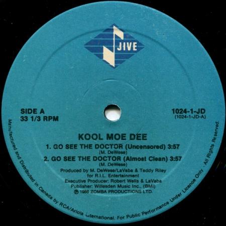 Kool Moe Dee ?– Go See The Doctor