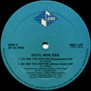 Kool Moe Dee ‎– Go See The Doctor