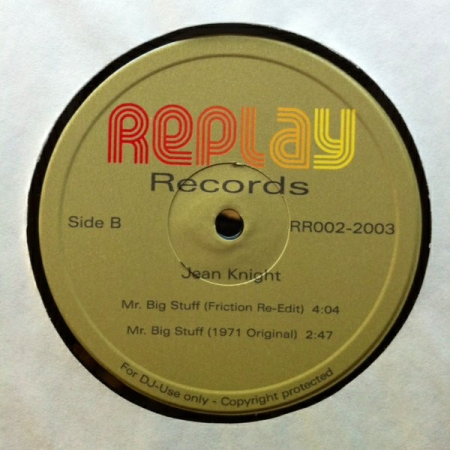 Jean Knight ‎- Mr. Big Stuff (Re-Edit Extend)