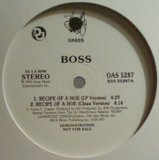 Boss ‎– Recipe Of A Hoe