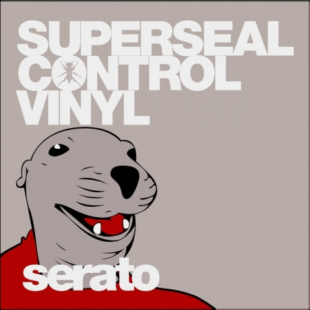 Timecode Serato Control Vinil Skratchy Seal Thud Rumble x Serato Superseal 12