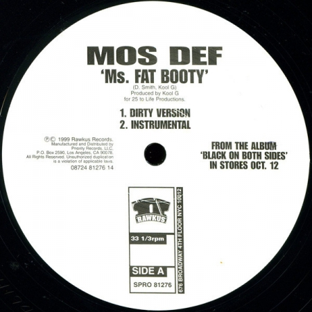 Mos Def ?– Ms. Fat Booty (Promo)