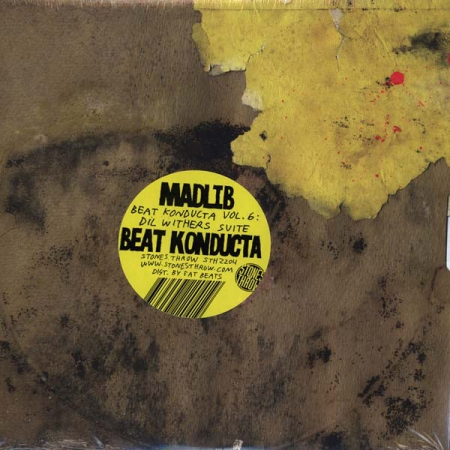 Madlib The Beat Konducta ‎– Vol. 6: Dil Withers Suite