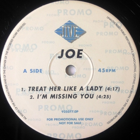 Joe ?– Treat Her Like A Lady