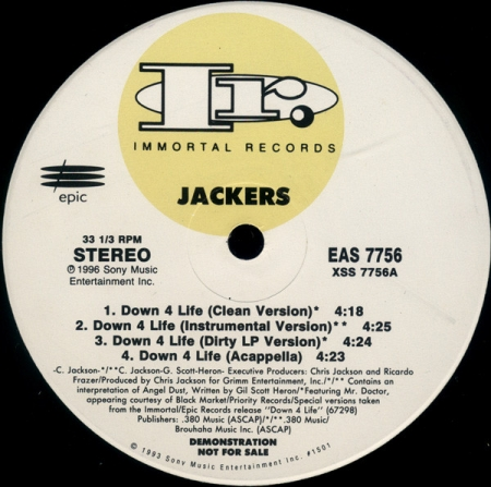 Jackers ?– Down 4 Life