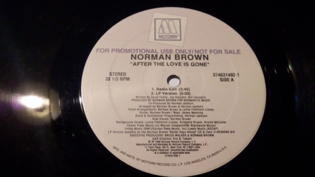 Norman Brown ?– After The Love Is Gone