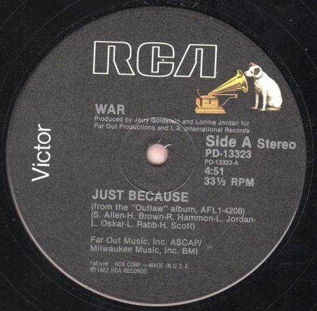 War – Just Because