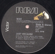 War ‎– Just Because