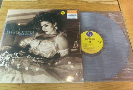 Madonna ‎– Like A Virgin ( UK Exclusive Limited Vinyl Clean )