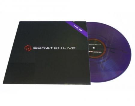 Timecode Serato Control Vinil Scratch Live Roxo (Semi Novo Unidade)