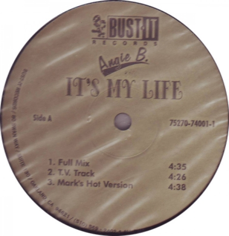 Angie B ‎– It's My Life