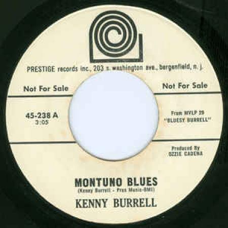 Kenny blues Montuno vinyl