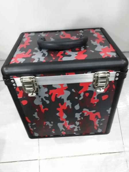Case Para Vinyl Camuflado (Vermelho e Preto)