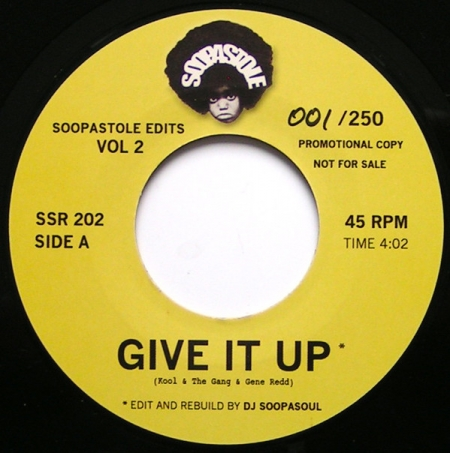 Kool & The Gang / Aretha Franklin ?– Give It Up / Rock Steady