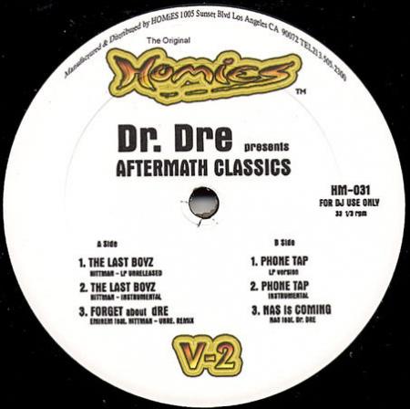 Dr. Dre ?– Present Aftermath Classics