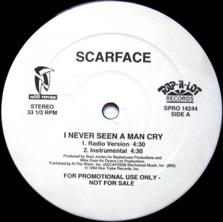 Scarface (3) ‎– I Never Seen A Man Cry / G's