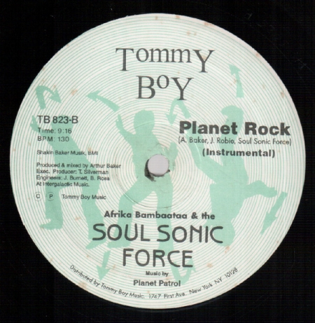 Afrika Bambaataa & The Soul Sonic Force* Music By Planet Patrol