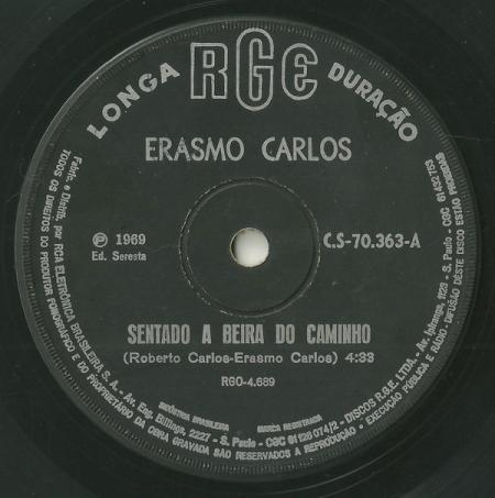 Erasmo Carlos – Sentado A Beira Do Caminho / Johnny Furacão