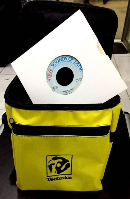 Bag Technics Para Compacto 50 Compactos (Cor Amarela)