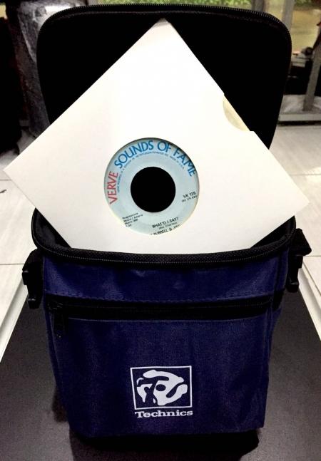 Bag Technics Para Compacto 50 Compactos (Azul Marinho)
