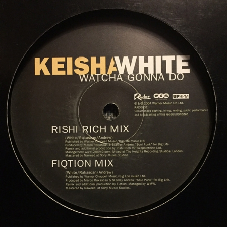 Keisha White ‎– Watcha Gonna Do