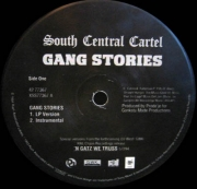 South Central Cartel ‎– Gang Stories
