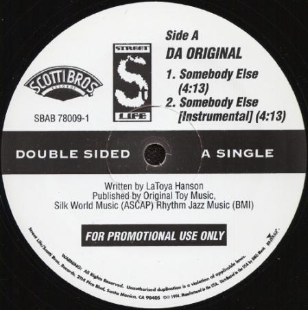 Furious Five Da Original ?– Sun Dont Shine In The Hood / Somebody Else