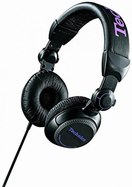Fone Technics RP-DJ1200 (Preto e Roxo NOVO LACRADO)