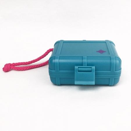 Case Para Agulhas - Black Box Blue